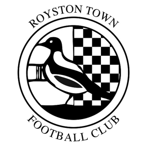 Royston Town's club badge