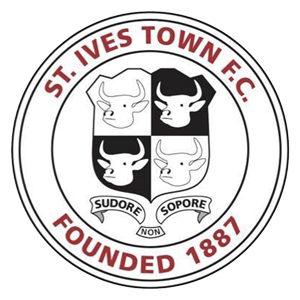 St Ives Town's club badge