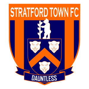 Stratford Town's club badge