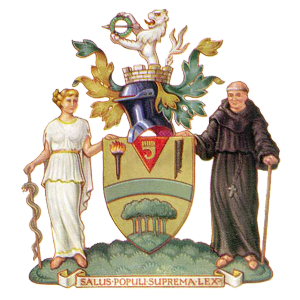 Harrow Borough's club badge