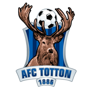 AFC Totton's club badge