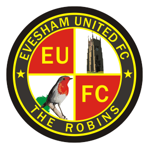 Evesham United's club badge