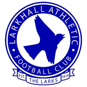Larkhall Athletic's club badge