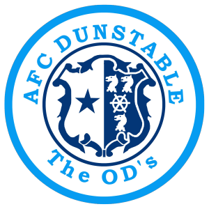 AFC Dunstable's club badge