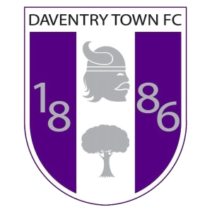 Daventry Town's club badge