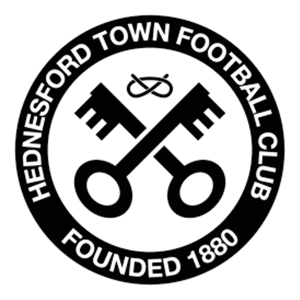 Hednesford Town's club badge