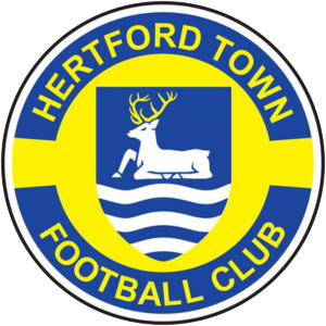 Hertford Town's club badge