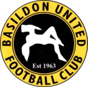 Basildon United's club badge