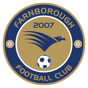 Farnborough's club badge