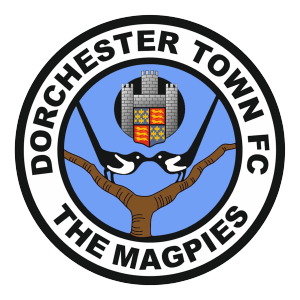 Dorchester Town's club badge