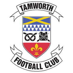 Tamworth's club badge